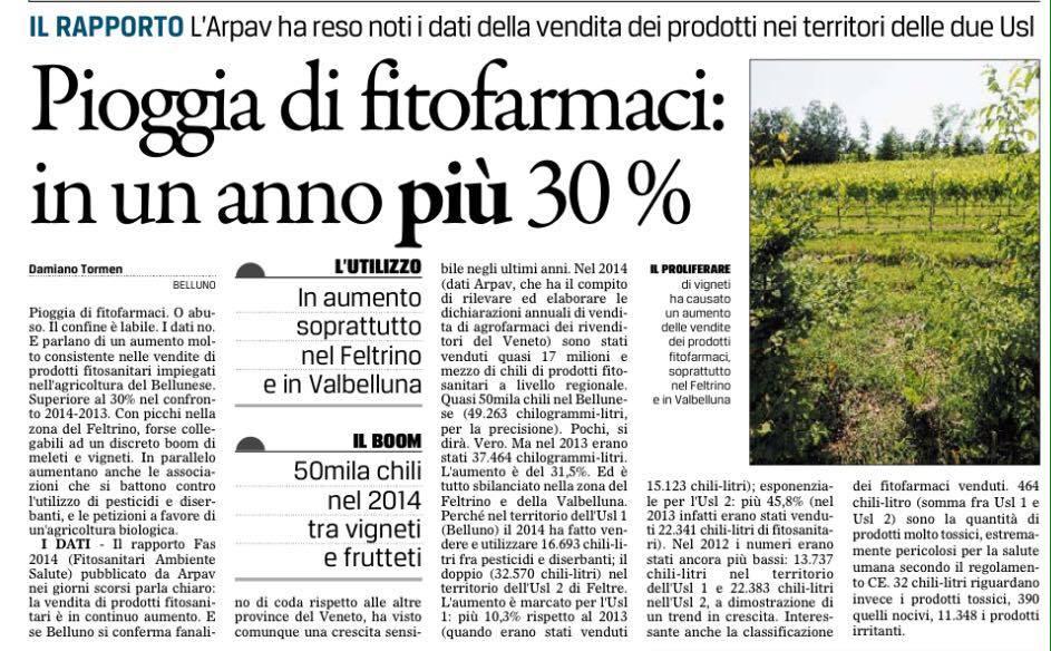 aumento pesticidi